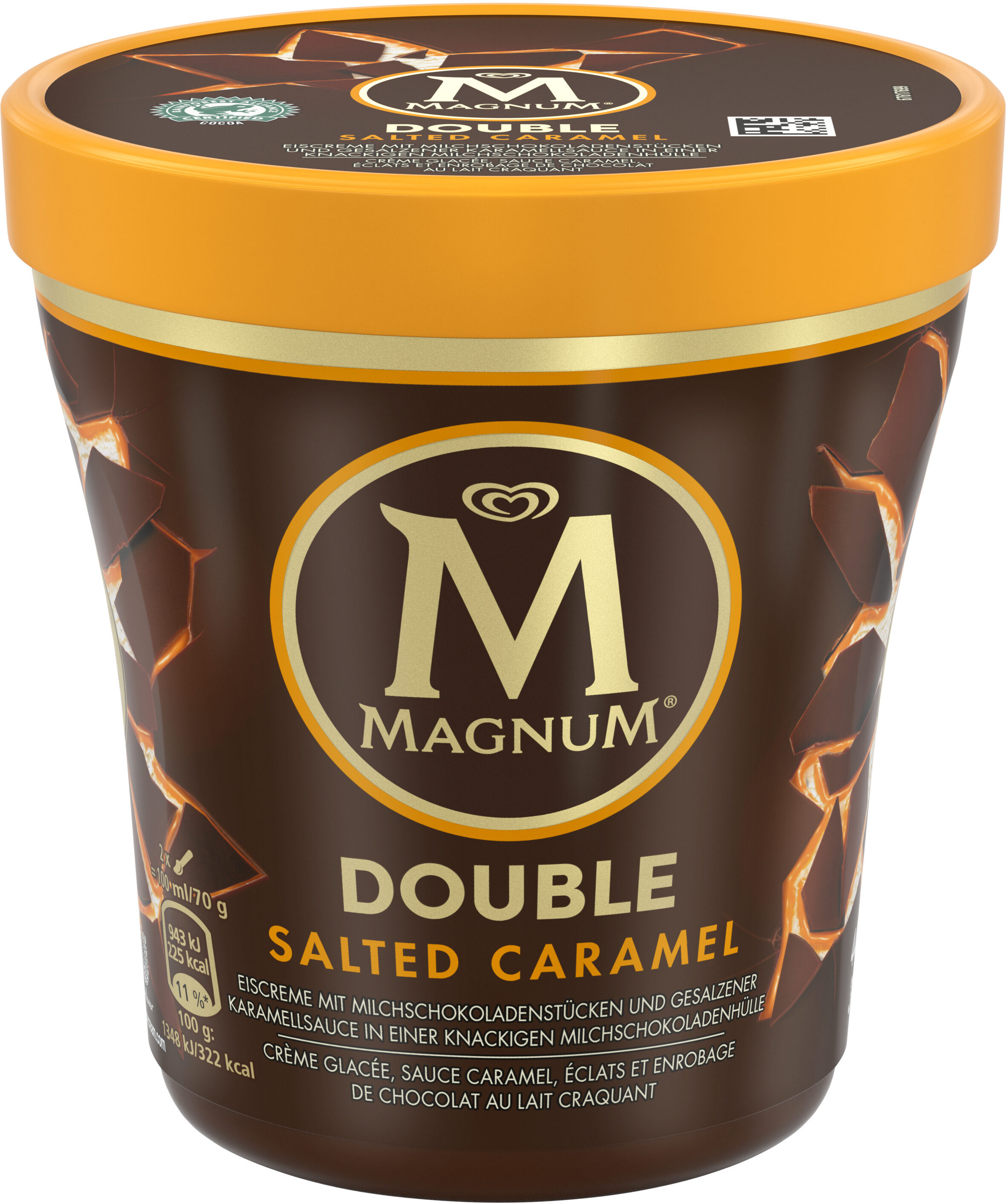 magnum pot double caramele 440ml